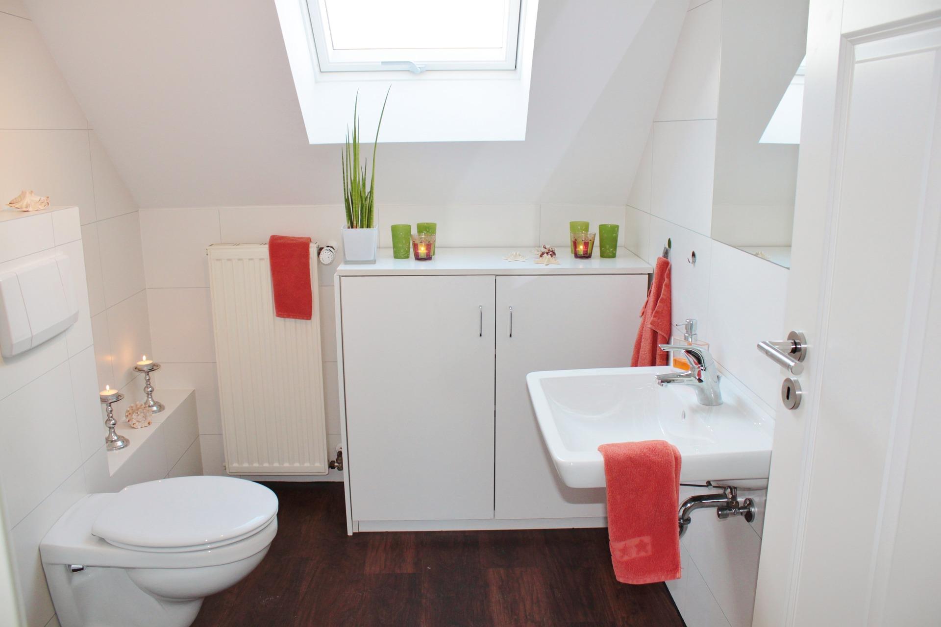 Nowoczesne Piękno Małych łazienek