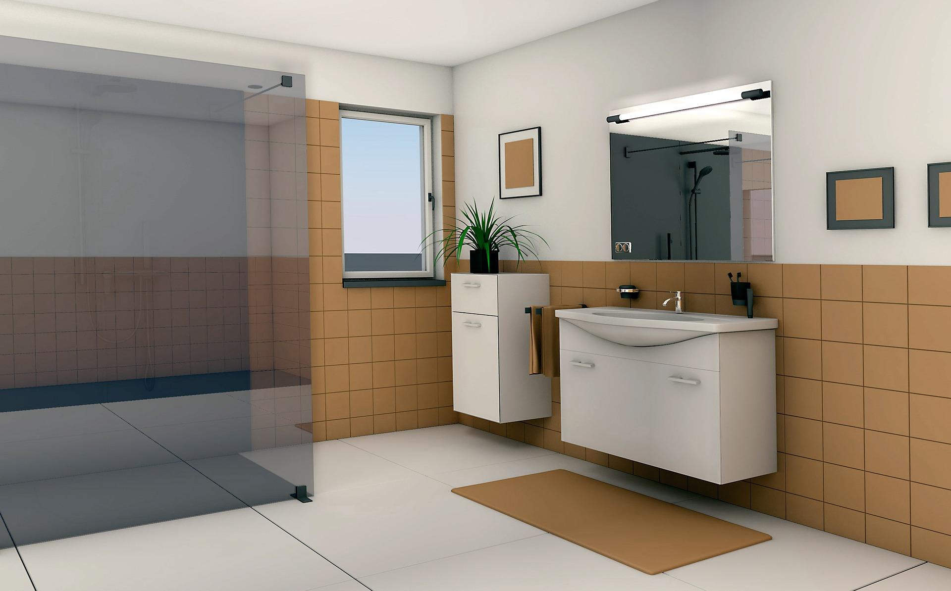 Małe łazienki Z Oknem Aranżacja