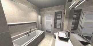 Efektowna łazienka przez efektywny remont.