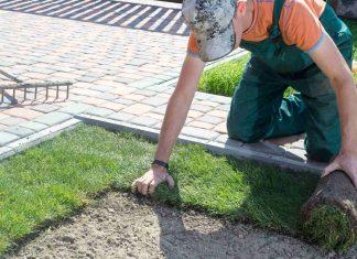 Jak samemu położyć sztuczny trawnik w ogrodzie