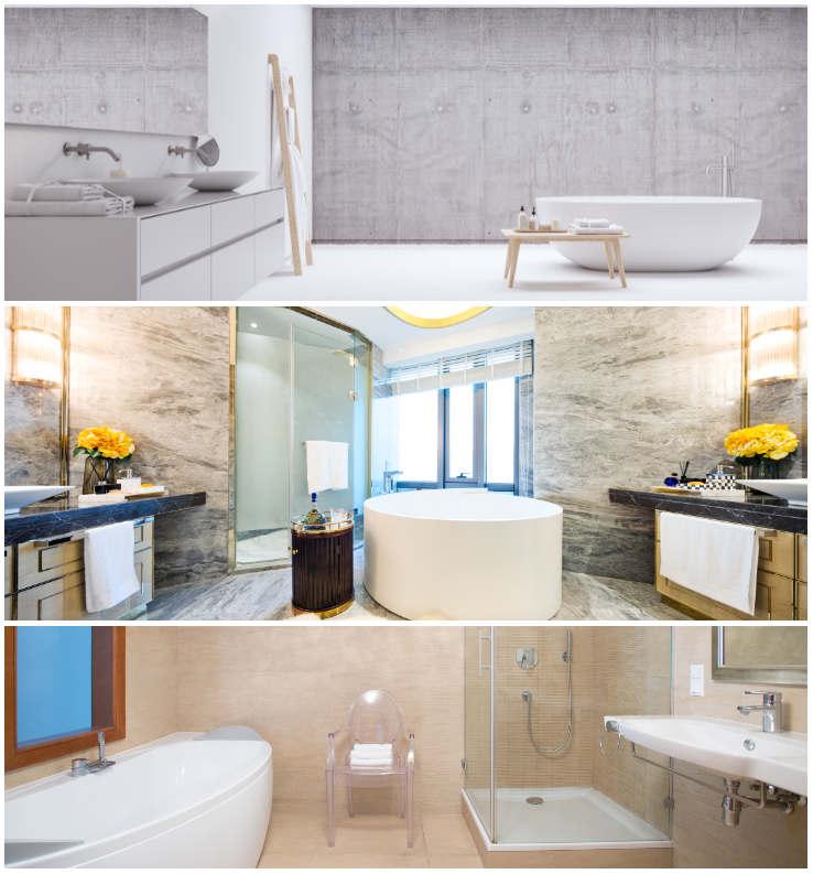 Nudne ściany W łazience To Przeszłość