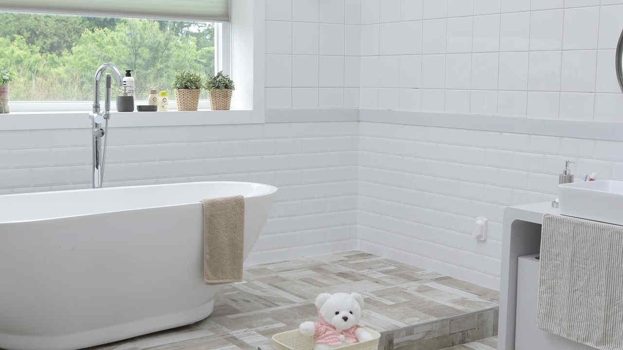 łazienka W Stylu Skandynawskim Elementarzprojektantapl