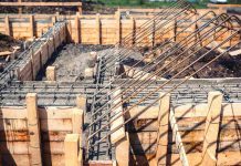 Deskowanie ścian radialnych
