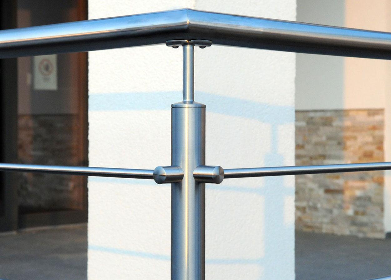 Balustrady systemowe dla schodów